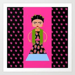 Famous Mexican painter Art Print
