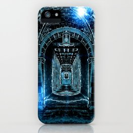 Abstract Gothic Architecture iPhone Case