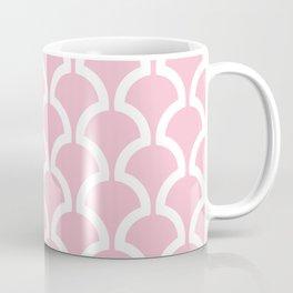 Classic Fan or Scallop Pattern 731 Pink Coffee Mug