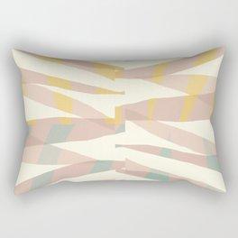 Whisper abstract art Rectangular Pillow