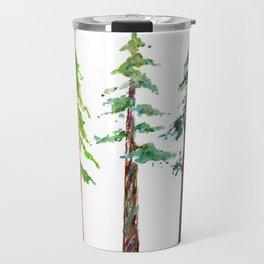 Tall Trees Please Travel Mug