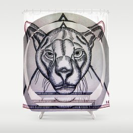 Jungla de Cemento Shower Curtain