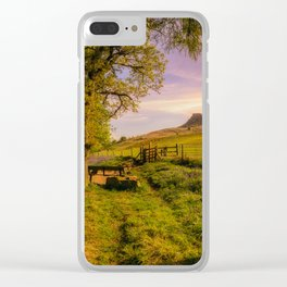 Cathch your Breath Clear iPhone Case