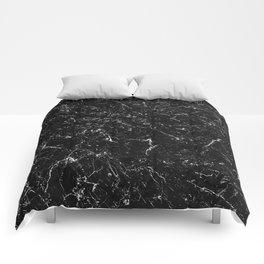 Black Marble Comforters
