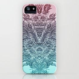 Soft Lines(P&B) iPhone Case
