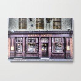 The Gipsy moth Pub Metal Print