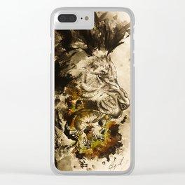 Lion's Den Clear iPhone Case