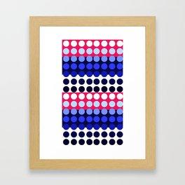 Dots! Framed Art Print