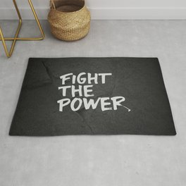 Fight the Power Rug