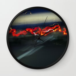 On the Way Home Wall Clock