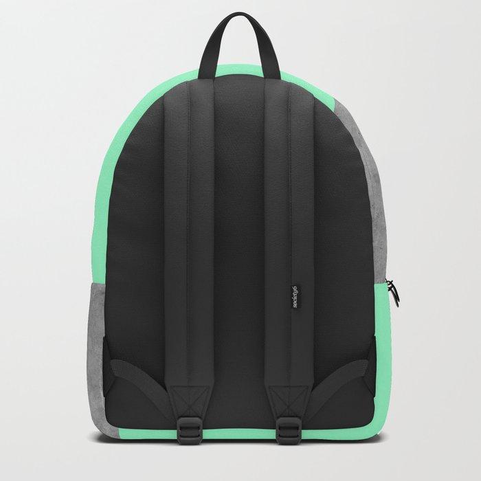 Geometry 101 Mint Meringue Backpack