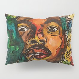 chance the rapper,coloring book,shirt,lyrics,music,art,wall art,cool,dope,colorful,painting,fan art Pillow Sham