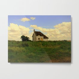 Canary Cottage, Thorney, UK Metal Print
