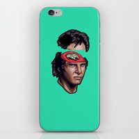 han solo iPhone & iPod Skins featuring Han Solo by mr adam cain
