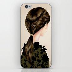 Twisted Ponytail  iPhone & iPod Skin