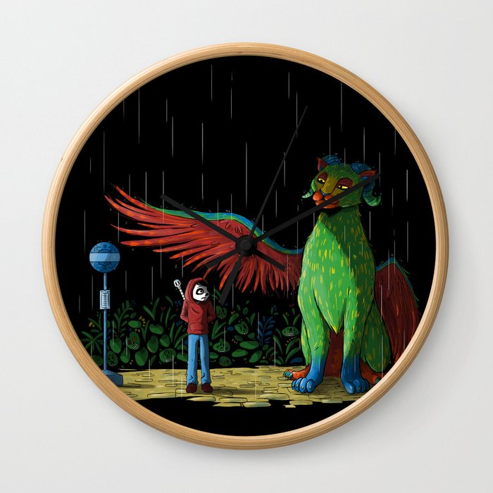 My Neighbor Pepita Wall Clock