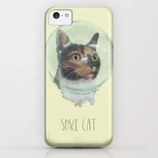 Space Cat Slim Case iPhone 5c