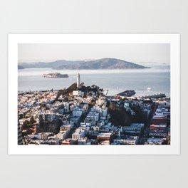 Coit Tower - San Francisco, CA Art Print