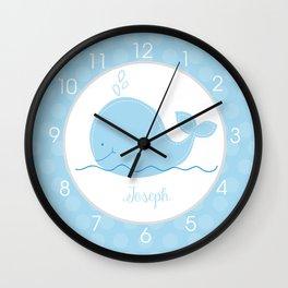 Joseph Whale Clock Wall Clock