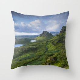 Up in the Clouds II Throw Pillow