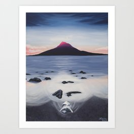 Pico, Azores Art Print