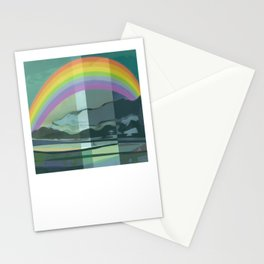 Hopeful Rainbow Stationery Cards