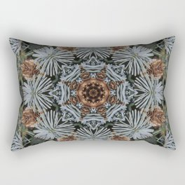 Spruce Cones And Needles Kaleidoscope K4 Rectangular Pillow