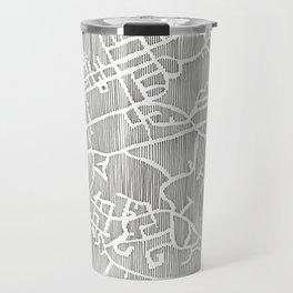 chapel hill city print Travel Mug
