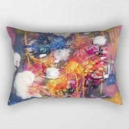 FlowerFish Rectangular Pillow