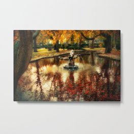 The Bath of the Nymph Metal Print