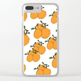 Squeeze The Day Clear iPhone Case