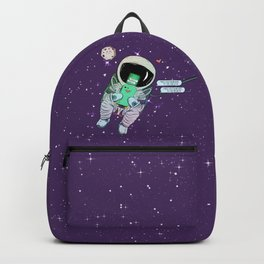 I miss you from here to the earth Backpack