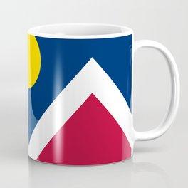 Denver, Colorado City Flag Coffee Mug