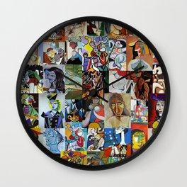 Pablo Picasso Wall Clock