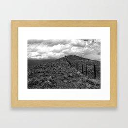 wyoming. Framed Art Print