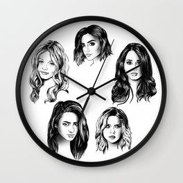 Pretty Little Liars Wall Clock