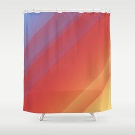 Simple Sunrise Shower Curtain