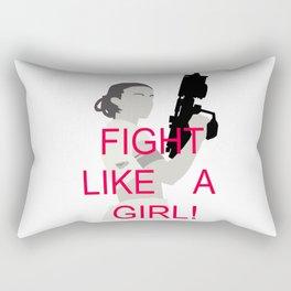 FIGHT LIKE A GIRL -PADME AMIDALA Rectangular Pillow