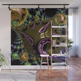 Psychedelic art, multicolor, 3D, FRACTALS, NEW Wall Mural
