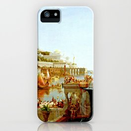 Cole Thomas The Consummation The Course of the Empire iPhone Case