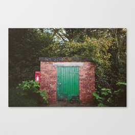 Secret spot in Wales Canvas Print