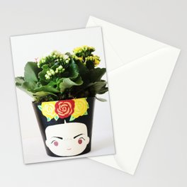 FRIDA KHALO FLOWER POT Stationery Cards