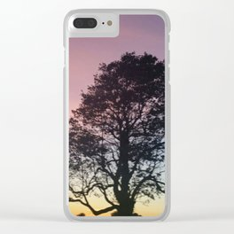 Pastel Sky #2 Clear iPhone Case