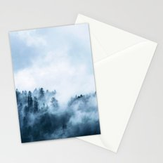 The Wilderness, Foggy Forest Stationery Cards