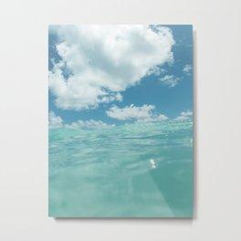 Hawaii Water VII Metal Print