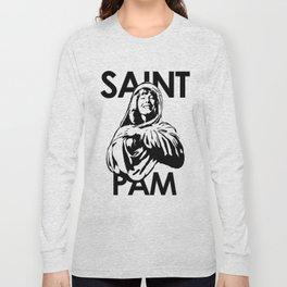 Saint Pam Miss Pamela Des Barres Groupie Long Sleeve T-shirt