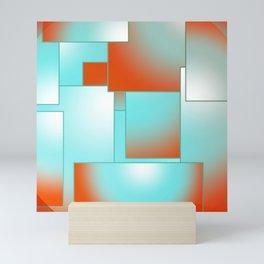 Geometric Shapes Mini Art Print