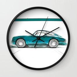 Porsche 911 / V Wall Clock
