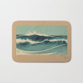 Hato Zu - Waves Bath Mat