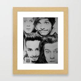 Photo Booth Framed Art Print